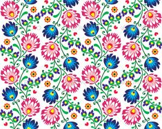 Seamless Folk Polish Pattern