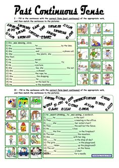 Past Continuous Tense *** with key *** fully editable