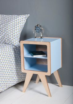 Space bedside table by ObiFurniture on Etsy