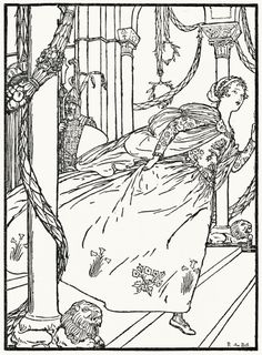 Ashputtel. R. Anning Bell, from Grimm's household tales, London, 1912. (Source…