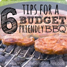 6 Tips for a Budget-Friendly BBQ  How to Save on Grilling and Barbecue