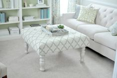 Simply Comfy: DIY Ottomans That Are A Living Room Must-Have