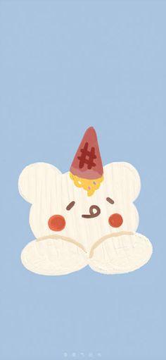微博 Aesthetic Backgrounds, Aesthetic Wallpapers, Phone Backgrounds, Wallpaper Backgrounds, Soft Wallpaper, Cute Illustration, Love Letters, Cute Wallpapers, Pikachu