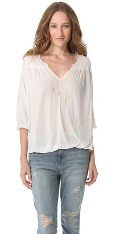 Soft Joie Precious Blouse. Def something I would wear. Simple and cute :)
