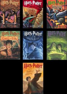 "The Harry Potter series it seemed EVERYONE was reading it even those who never cracked a book that wasn't ""required."""
