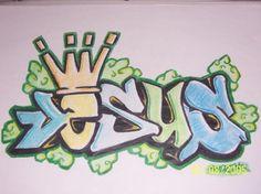 Guardian Graffiti Art: 13 Jesus Graffiti Style