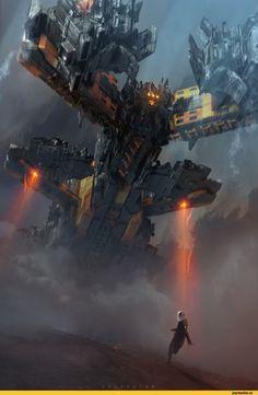 Sci-Fi,art,арт,красивые картинки,Col Price