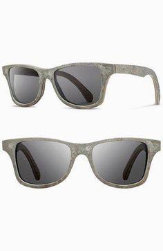 9cbad643cc Shwood  Canby  54mm Shwood  Canby  54mm Polarized Stone Sunglasses