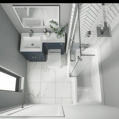 Small space tiny home bathroom layout. Simple design with minimal items but still keeps the beauty element alive