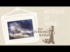 Painting a Sky and Clouds in Watercolor - YouTube Watercolor Clouds, Watercolour Painting, Storm Clouds, Sky And Clouds, Cloud Tutorial, Step By Step Watercolor, Watercolour Tutorials, Painting Techniques, Frame