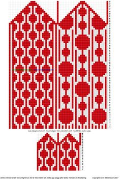 Dotted Lines – Share Your Mittens! Knitted Mittens Pattern, Knit Mittens, Mitten Gloves, Tapestry Crochet, Knit Crochet, Knitting Charts, Knitting Patterns, Fingerless Mittens, Cross Stitch Borders