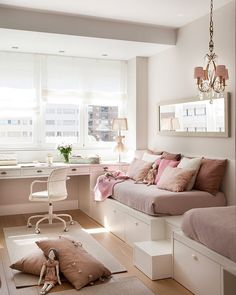 Teen Bedroom Ideas - Develop a space filled with personal expression, motivated by these teen room suggestions. Whether young boy or girl, infiltrate as well as find a style that fits. Dream Rooms, Dream Bedroom, Teen Bedroom, Bedroom Decor, Bedroom Ideas, Bedrooms, Young Adult Bedroom, Bedroom Themes, Dispositions Chambre