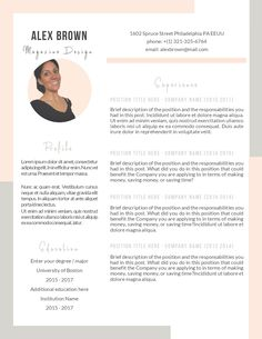 ▌ A perfect template at the best price, in exchange for what? In exchange for your appreciation ▌ Cv Template, Resume Templates, Letter Icon, Curriculum Vitae Resume, Looking For A Job, Job Resume, Cover Letter For Resume, Professional Resume, Company Names