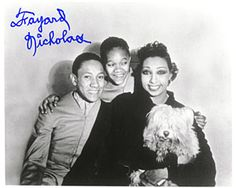 young josephine baker | The young Nicholas Brothers with Ms Josephine Baker plus dancing their ...
