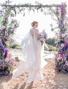 Purple wedding flowers ideas and inspiration