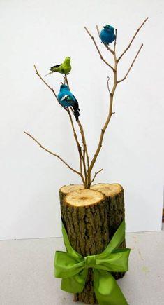 Ideas Bird Theme Party Branches For 2019 Bird Theme Parties, Bird Birthday Parties, Colorful Birthday Party, 5th Birthday Party Ideas, Bird Party, Party Themes, Ideas Party, Bird Nest Craft, Bird Crafts