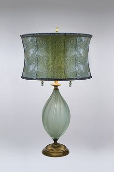 Ava by Susan Kinzig and Caryn Kinzig: Mixed-Media Table Lamp available at www.artfulhome.com