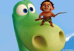 """¿Qué hubiera pasado si el asteroide que chocó contra la Tierra hace millones de años hubiera errado su objetivo y los dinosaurios nunca se hubieran extinguido? En esa pregunta se inspiró """"The Good Dinosaur"""", el nuevo film de los estudios Disney/Pixar dirigido por Peter Sohn."""
