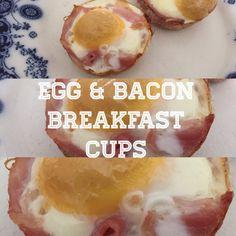Mama Mummy Mum: Egg & Bacon Breakfast Cups