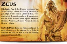 todos los dioses de god of war I , II y III - Taringa!