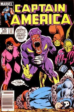 Cover for Captain America (Marvel, 1968 series) #315 [Direct Edition]
