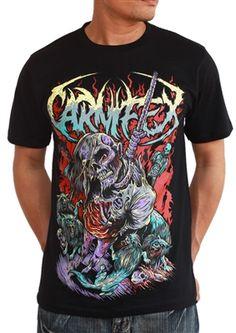 0fe2ffd1 Carnifex Hangman T-Shirt 100% soft cotton, must have Carnifex merch. Stylish