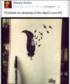 Beautiful drawing by Nitzely Quiles.