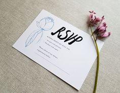 Floral wedding invitation set / Editable & Printable / available in my Etsy Shop ♥ Floral Wedding Invitations, Wedding Invitation Templates, Rsvp, Digital Prints, Printables, Etsy Shop, Unique Jewelry, Handmade Gifts, Fingerprints