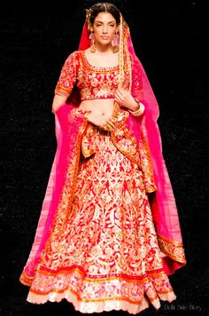 Suneet Varma India Bridal Fashion Week 2013 The Golden Bracelet Indrani Dasgupta