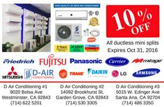 D-Air offers highly competitive products and services. We will meet or beat any central air or ductless mini split from Costco or Home Depot. Energy Bill, Costco, Conditioning, Home Depot, Improve Yourself, Promotion, Mini