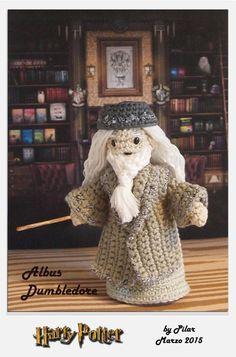 #amigurumi Harry Potter, Dumbledore