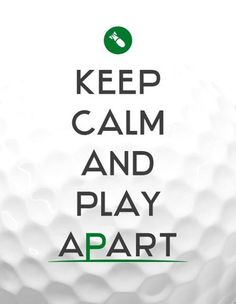 KeepCalm and play APART!
