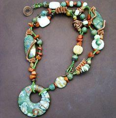 Fun, colorful necklace!
