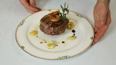 Filetto di manzo con cipolla in tempura , maionese alla tartara e mostarda Veneta Lazzaris