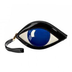 Sapphire Eye Coin Purse | Coin Purses | Purses | Lulu Guinness