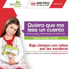 Metro y Mutual de Seguridad impulsan campaña para reforzar prevención de…