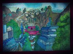 Konohagakure - Naruto  Karya : Ikhsan Adianto
