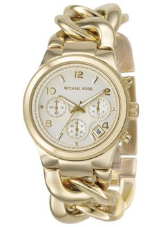 Michael Kors Ladies Watch MK3131 Chronograph