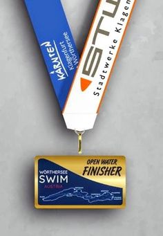 MEDAL  🎖️Woerthersee Swim Austria 🇦🇹 Klagenfurt, Open Water, Austria, Swimming, Swim