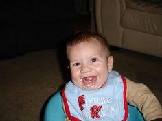 oatmeal smile! <3
