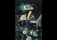"""Director Walter Hill on the set of """"The Warriors"""" (1979)"""