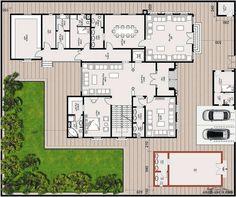 مخطط الفيلا رقم التصميم A1 من مبادرة بيتى 659 متر مربع 5 غرف نوم