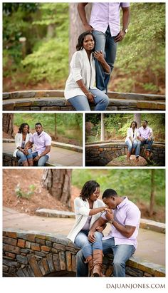 Duke Gardens Engagement Pictures