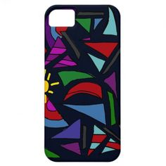 Sailboats Abstract Art Design iPhone 5 Case #sailboats #sailing #art #abstract #iphone5case #zazzle #petspower
