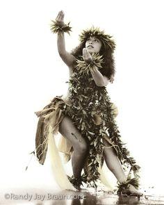 "Ku'uleialoha My Lei Of Love by Randy Jay Braun #122 Let dancer Ku`uleialoha weave a ""lei of aloha"" for you with this beautiful image, captured at sunset at Kauai's Kalapaki Bay."