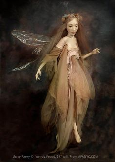 """Stray Faery"" © Wendy Froud 24"" tall"
