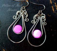 Hey, I found this really awesome Etsy listing at https://www.etsy.com/listing/163932784/wire-wrapped-earrings-wire-wrapped