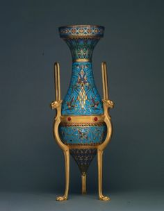 Vase made by  Ferdinand Barbedienne,  French,designed by  Louis Constant Sevin