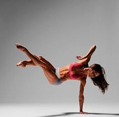 Dancers:  beauty and strength