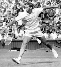 Roy Emerson, Grand Slam Winner at 1964 Wimbledon